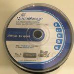 Test: Bluray Rohlinge Media Range 50GB printable 6x DISCID CMCMAGDI6